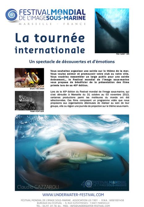 Tournée Internationale 2014 - Festival Mondial de l'Image Sous-Marine | Blue world news | Scoop.it