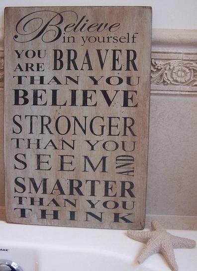 Believe in Yourself – Pinterest Quotes | Pinpopular | Scoop.it