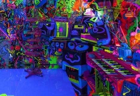 Kenny Scharf's Psychedelic Pop Art | Kenny Scharf | Scoop.it