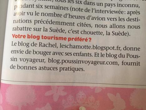 Recommandé par Marie Perarnau dans Famili | Revue de presse Poussin Voyageur | Scoop.it
