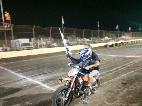 Great job Branden Weller! Dad is going for a ride;))   California Flat Track Association (CFTA)   Scoop.it