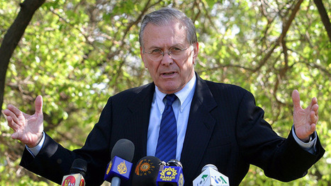 Rumsfeld admits Bush was wrong pushing democracy on Iraq | Lavold's Social Studies 30-1 | Scoop.it
