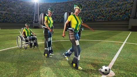 Paralyzed teen to kick World Cup's first ball with mind-controlled ... | World Cup | Scoop.it