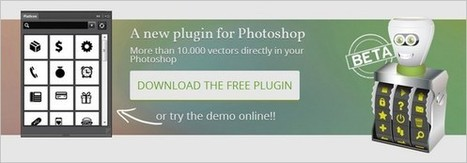 Download Free Vector Icons as SVG, PNG or WebFont Direct in Photoshop | Web Content | Scoop.it