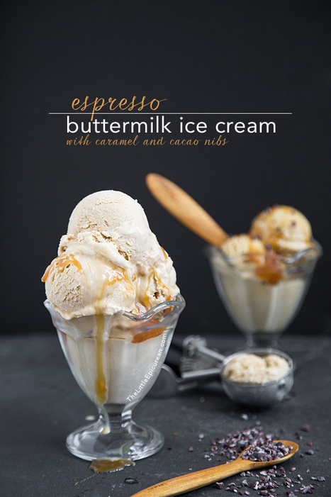 Espresso Buttermilk Ice Cream | The Man With The Golden Tongs Hands Are In The Oven | Scoop.it