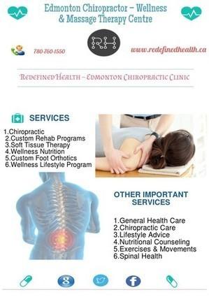 Best Chiropractor in Edmonton For Pain Relief | Edmonton Chiropractors - Redefined Health | Scoop.it