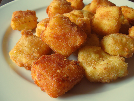 Eaten this Easter in Le Marche: Deep-Fried Custard Cubes - Crema Fritta | Hospitality Industry | Scoop.it