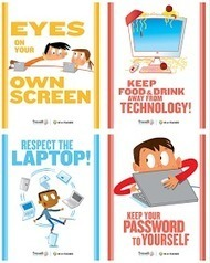 Educational Technology and Mobile Learning: 8 Must Have Classroom Posters for Technology Best Practices | Meaningful Mobile Learning | Scoop.it