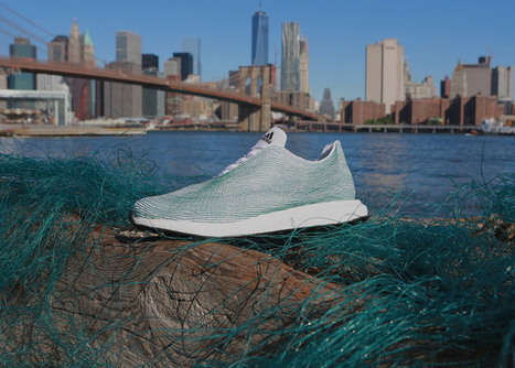 Adidas unveils sports shoes made from recycled ocean waste   Inspired By Design   Scoop.it