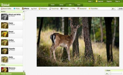 Ribbet: potente editor de imágenes online y gratuito | Herramientas TIC para el aula | Scoop.it