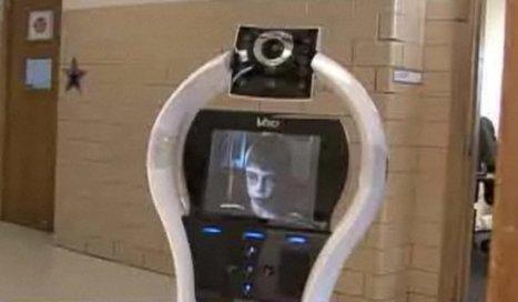 Lyndon Baty, l'utilisateur du robot-avatar. | Photo NBC/DR - Paris Match | Les robots de service | Scoop.it