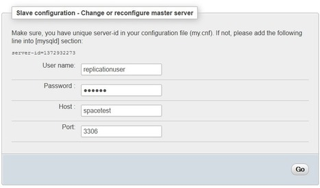Moodle MySQL Replication using PHPMyAdmin | tipsmoodle | Scoop.it