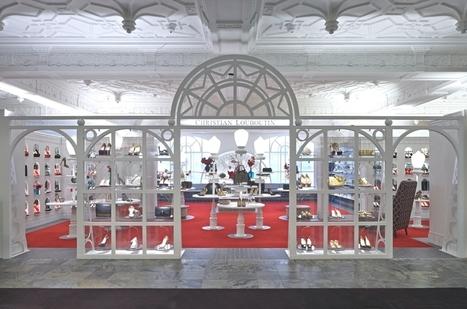 Lee Broom designs new Christian Louboutin boutique in Harrods - Adelto | Designing Interiors | Scoop.it