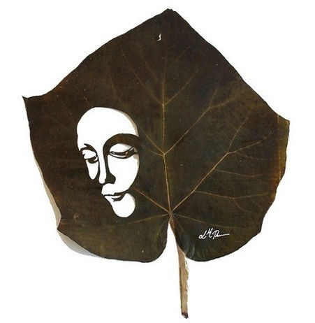 Leaf Art par Naturayarte | Ca m'interpelle... | Scoop.it