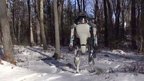 Remarkable Boston Dynamics robot puts up with bullying - BBC News | Communication design | Scoop.it