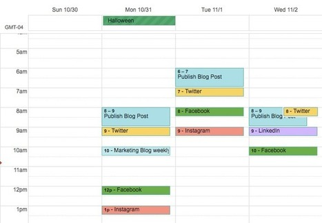 4 Helpful Tools for Organizing Your Social Media Calendar | MarketingHits | Scoop.it