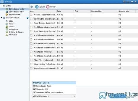 Syncios : un logiciel gratuit pour synchroniser votre iPhone, iPad, iPod avec votre ordinateur | Time to Learn | Scoop.it