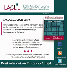 Latin American Journal of CLIL: Call for papers April 2014 Issue | BEP Noticeboard - Tablón de Anuncios | Scoop.it