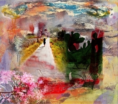 Artwork: The Path To The Chapel - Open House Art | Art - Crafts - Design | Scoop.it