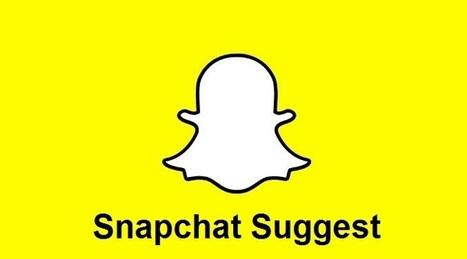 Snapchat Suggest inaugure la recommandation des profils à suivre entre amis | Référencement internet | Scoop.it