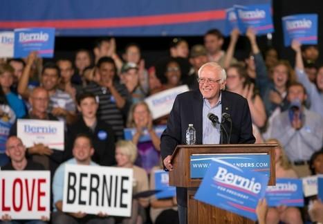 Positive Election Outlook Has Bernie Sanders Grinning   Opening Passages   Scoop.it