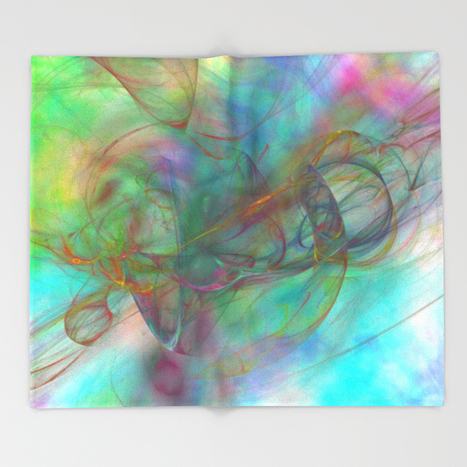 Magic Touch Throw Blanket by Christy Leigh | Society6 | Art and Photography and Inspiration | Scoop.it