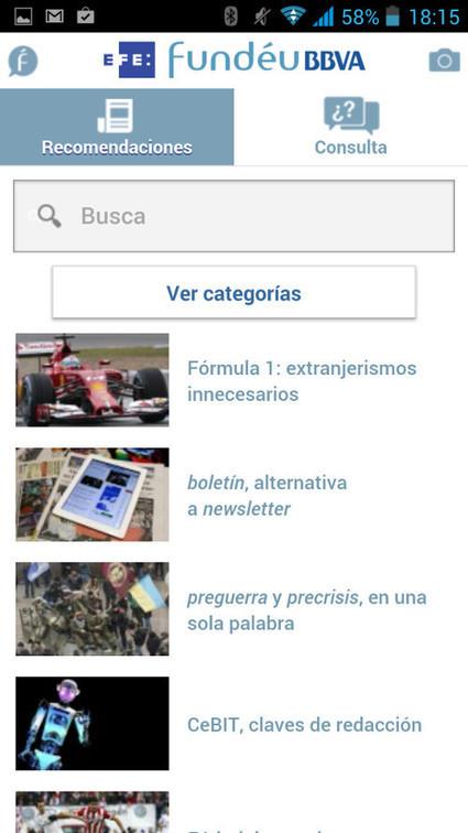 Fundéu BBVA lanza una aplicación para resolver dudas del idioma en el móvil | ELE y TRIC | Scoop.it