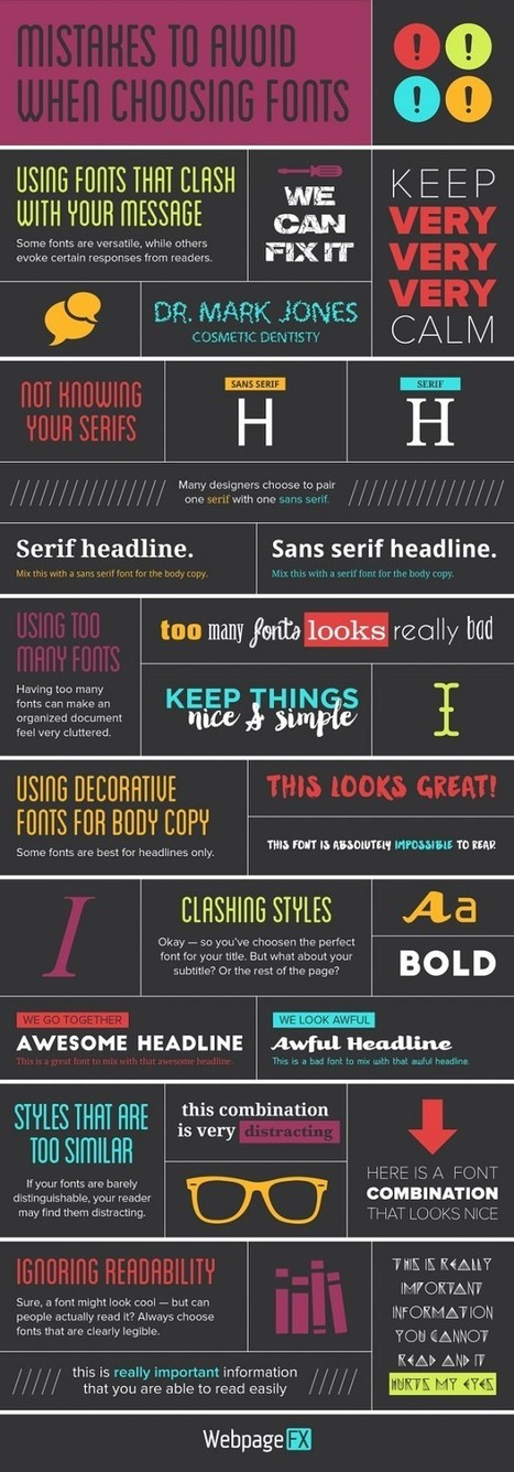 The Power of Typography in Web Design | Web Design | Scoop.it