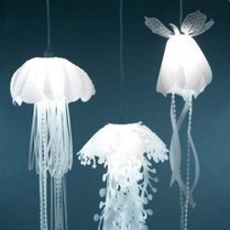 Hanging Lamps That Look Like Jellyfish | Art, Design & Technology | Scoop.it