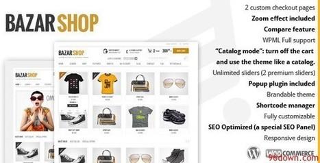Bazar Shop v1.8.0 Multi-Purpose e-Commerce Theme | Download Free Full Scripts | Bazaar theme | Scoop.it