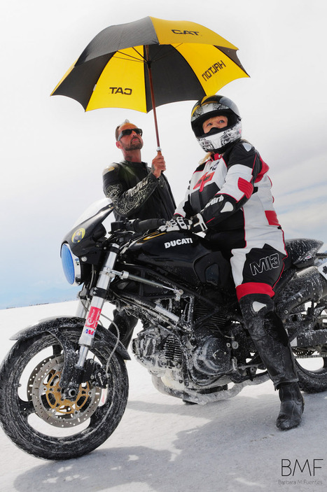 The Ladies of Bonneville Motorcycle Speed Trials 2014 | Ductalk Ducati News | Scoop.it