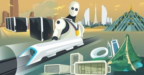 Dubai: City of the Future [INFOGRAPHIC] | Arabian Peninsula | Scoop.it