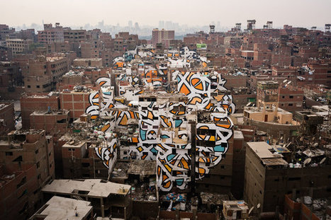 Sprawling Mural Pays Homage to Cairo's Garbage Collectors | Creatively Aging | Scoop.it
