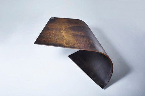 Perfectly Balanced Table Made of Steel | Art, Design & Technology | Scoop.it