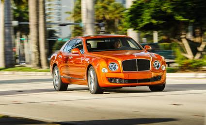 BENTLEY Mulsanne in orange. Nice looking car....   Exotic Car Rentals   Scoop.it