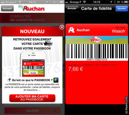Passbook, l'application sous-estimée d'Apple | Mobility & Financial Services | Scoop.it