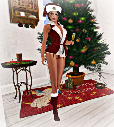 Dizzy Duckling Diary: I wish you a very very happy Xmas | the second life fashion blog | Scoop.it
