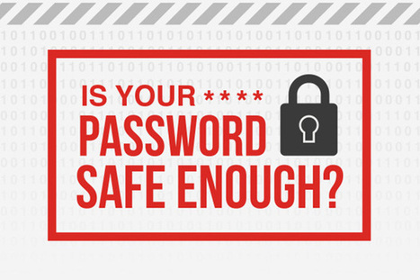 Is Your Password Safe Enough? [Infographic] | RV Life via Hidden Valley RV | Scoop.it