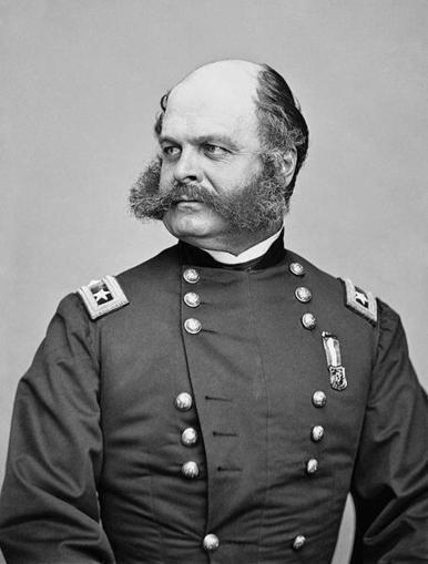 Twitter / History_Pics: Civil War general Burnside. ... | History | Scoop.it