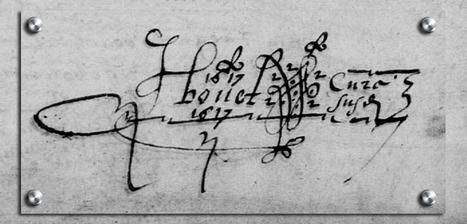 Monogramme de Jean BOUET, Curé de Trémentines (49) | GenealoNet | Scoop.it