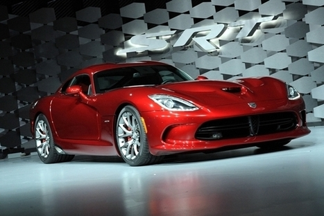 New Dodge SRT Viper Revealed in 2012 New York Motor Show New Dodge SRT Viper 2013 in New York Motor Show - front view – Auto Trend Update   Concept Cars, and new arrivals   Scoop.it