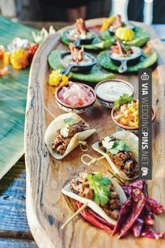 Wedding Food Ideas - Mexican fiesta inspired wedding | Charlotte Wedding Magazine | Design by The Graceful Host | Floral by Lily Greenthumbs | Photography by Smitten Hooked | Summer 2013 | Charlott... | wedding pictures | Scoop.it