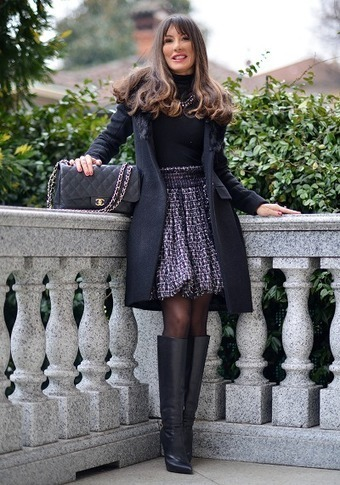 Chanel Touches for a winter outfit | Fashion blog di moda | Scoop.it