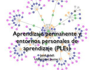 Aprendizaje permanente y entornos personales de aprendizaje (PLEs)   Open Social Learning   Scoop.it