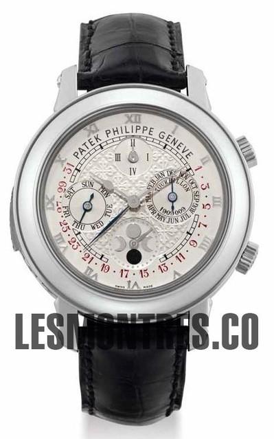 Patek Philippe Sky Moon Tourbillon 5002P Replique | replique montres pas cher | Scoop.it