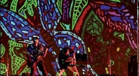 Une médiation numérique placée sous le signe de l'énergie rock de Robert Combas | | C/blogC/blog | Lyres | Scoop.it