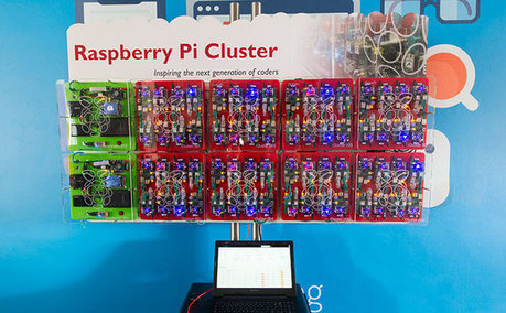 GCHQ outs 64-strong Raspberry Pi bramble to encourage coding | Raspberry Pi | Scoop.it