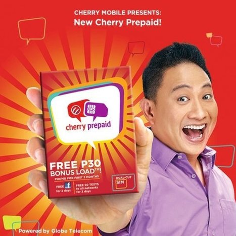 Cherry Prepaid SIM Card Launched by Cherry Mobile and Globe | Gadget Milk Philippines | Tech and Gadgets | Scoop.it