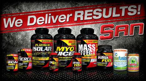San Nutrition Accelerate Bodybuilders Performance | Health | Fitness | Bodybuilding Supplement | Scoop.it