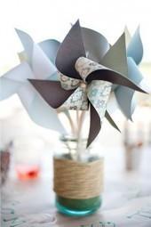 Déco de table : Des moulins à vent - DIY Déco | Décoration de Mariage, Baptême et déco de table | Scoop.it
